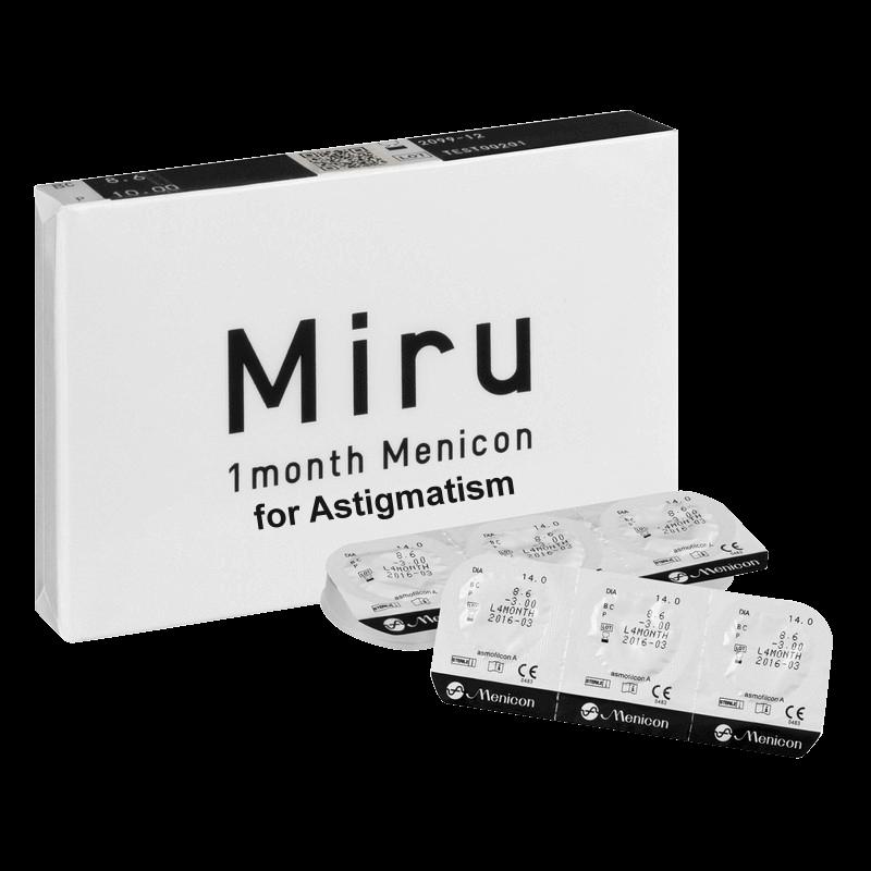 MIRU 1 MONTH ASTIGMATISM